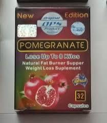 كبسولات pomegranate لفقدان الوزن الزائد