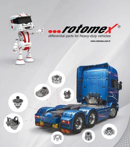 شركة روتومكس مادينجي التركي مصنعة لقطع غيار الدفرنسيال يعني محور الخلفي و الأمامي للشاحنات مرسيدس Actros/Axor/Atego بالجملة.  نرجو منكم تواصل عبر ا�