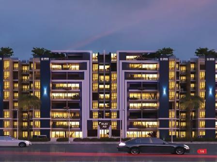 شقة للبيع 149 م بسعر لقطة شامل التشطيب وقريب من افضل خدمات بالعاصمة الادارية