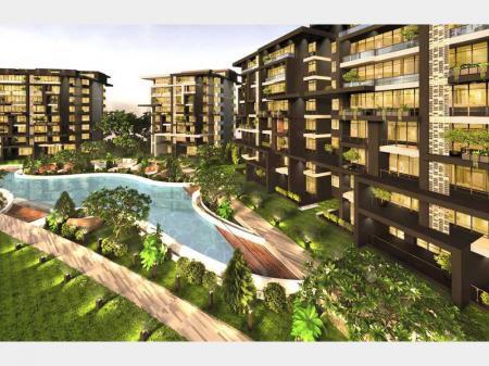 شقة بحديقة مميزة فى لاكبيتال العاصمة الادارية